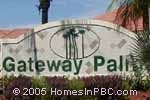 sign in front of Gateway Palms in Boynton Beach