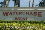 sign in front of Waterchase West in Boynton Beach
