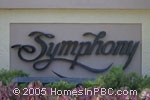 sign in front of Symphony in Boca Raton