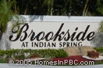 Click here for more information about Brookside at Indian Spring                                      in Boynton Beach