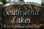 sign in front of Southwind Lakes in Boca Raton