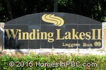 sign in front of Winding Lakes II in Boca Raton
