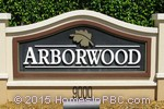 sign in front of Arborwood in Boca Raton