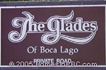 sign in front of The Glades in Boca Raton