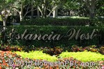 sign in front of Estancia West in Boca Raton