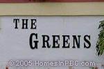 sign in front of The Greens in Boca Raton
