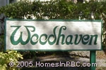 sign in front of Woodhaven in Boca Raton