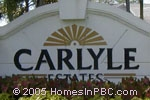 Click here for more information about Carlyle Estates at Boca Winds                                         in Boca Raton
