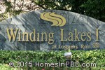 sign in front of Winding Lakes I in Boca Raton