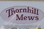 sign in front of Thornhill Mews in Boca Raton