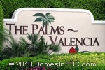 sign in front of The Palms in Boca Raton