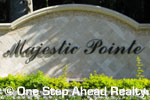 sign in front of Majestic Pointe in Boca Raton