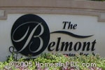 sign in front of The Belmont in Boynton Beach