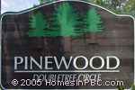 sign in front of Pinewood in Wellington