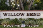 sign in front of Willow Bend in Lake Worth
