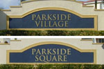 sign in front of Parkside Village / Parkside Square in Boynton Beach