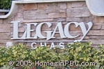 sign in front of Legacy Chase in Lake Worth