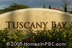 sign in front of Tuscany Bay in Boynton Beach