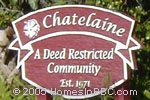 sign in front of Chatelaine in Delray Beach