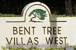 sign in front of Bent Tree Villas West in Boynton Beach