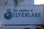 sign in front of The Estates of Silverlake in Boynton Beach