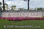 sign in front of St. Andrews Glen in Lake Worth
