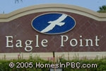 sign in front of Eagle Point in Delray Beach