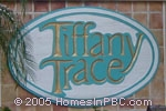 sign in front of Tiffany Trace in Boca Raton
