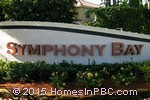 sign in front of Symphony Bay in Boca Raton