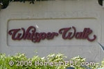 sign in front of Whisper Walk in Boca Raton
